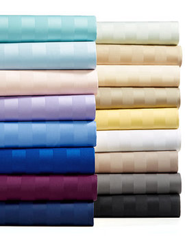 Stripe Extra Deep Pocket Sheet Sets, 550 Thread Count 100 Percents Supima Cotton, Created For Macy's by Charter Club Damask