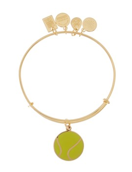 Team Usa Tennis Charm Expandable Wire Bracelet by Alex And Ani