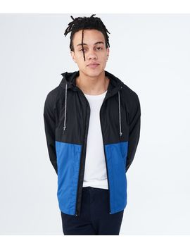Colorblocked Windbreaker by Aeropostale