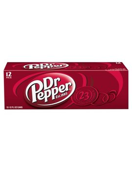 Dr Pepper, 12 Fl Oz, 12 Pack by Dr. Pepper
