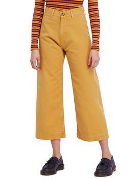 Patti Crop Cotton Pants by Free People