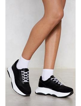 Looks Fade Chunky Sneaker by Nasty Gal