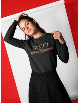 Gucci Sweatshirt Women And Men   Free Shipping   Gucci Fashion   Gucci Inspired   Limited Time Only    Gucci Vintage Logo by Todays Fashion Store