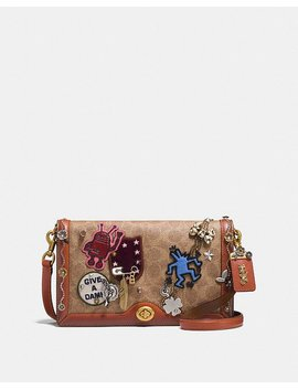 Coach X Keith Haring Riley In Signature Patchwork by Coach