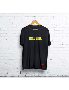 Kill Bill Shirt   Quentin Tarantino T Shirt (Women And Men) Black And White   Kill Bill Tee by Improgear
