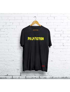 Quentin Tarantino Pulp Fiction Shirt Unisex Gift For Men And Women T Shirt Movie Shirt Tee by Improgear