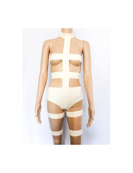 Latex Lee Loo Bandage Cosplay Outfit Fifth Element by Black Sheep Latex