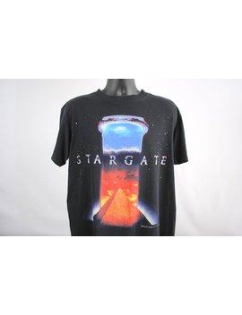 1994 Stargate Rare Vintage Cult Classic 90's Kurt Russell Science Fiction Movie Promo T Shirt by Vt Gdallas