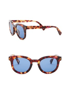 47mm Round Sunglasses by Lanvin