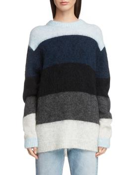 Stripe Oversized Sweater by Acne Studios