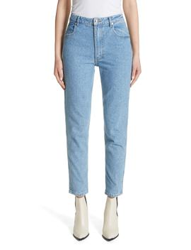 High Waist Slim Crop Jeans by Eckhaus Latta