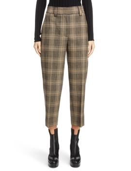 Check Crop Suit Pants by Acne Studios