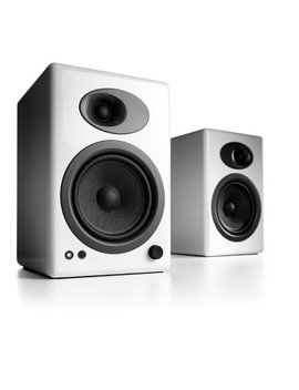 Audioengine A5+ Premium Powered Speaker Pair (White) by Audioengine