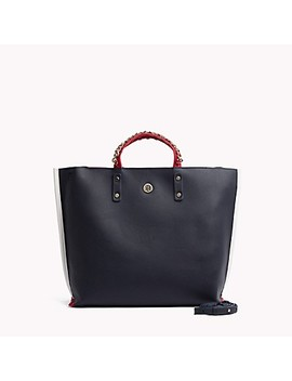 Chain Tote by Tommy Hilfiger