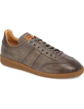 Xavi Embossed Low Top Sneaker by Magnanni