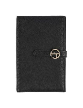 Giorgio Armani Checkbook Holder   Small Leather Goods D by Giorgio Armani