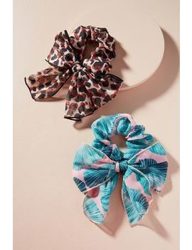 Safari Scarf Hair Tie Set by Anthropologie