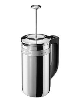 Kitchen Aid 5 Kcm0512 Ess, Artisan Pressstempelkanne Mit Eingebauter Waage Und Timer, Edelstahl by Amazon