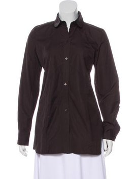 Jil Sander Long Sleeve Button Up Top by Jil Sander