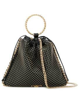 Balmainmetallic Handle Studded Baghome Women Balmain Bags Messenger & Crossbody Bags by Balmain