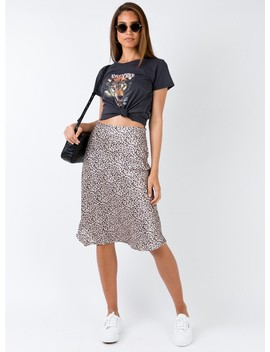 Zazu Midi Skirt by Princess Polly