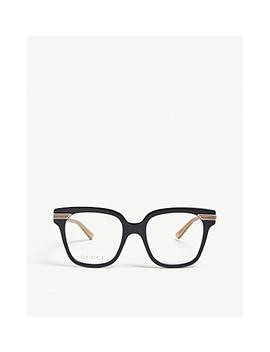 Gg0284 O Square Glasses by Gucci