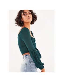 Daisy Hill Top   Green by Peppermayo
