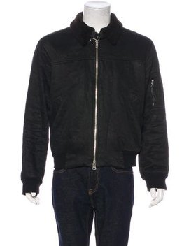 Marc Jacobs Linen & Wool Bomber Jacket by Marc Jacobs