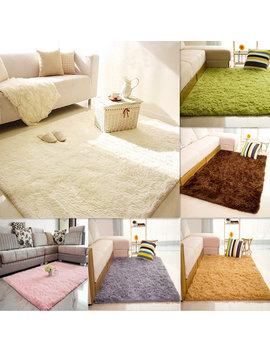 80x120cm Velvet Carpet Non Slip Bedroom Yoga Floor Mat Rug by Newchic