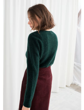 Wool Blend Knit Sweater by & Other Stories