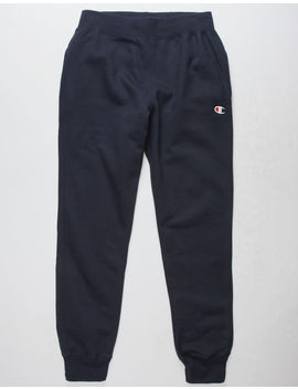 Champion Reverse Weave Navy Mens Sweatpants by Champion
