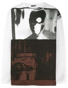 Raf Simonsprinted Sweatshirt Home Men Raf Simons Clothing Sweatshirts by Raf Simons