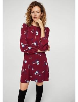 Kleid Mit Volant Details by Mango