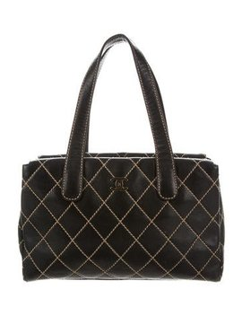 Chanel Small Surpique Tote by Chanel