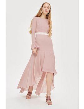 **Valda Hi Low Skater Dress By Tfnc by Topshop