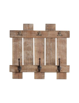 Decorative Wood Triple Wall Hook by Sagebrook Home