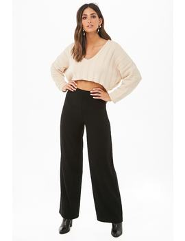 High Waist Wide Leg Pants by Forever 21