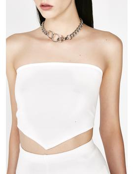 Diamond Tube Top by Motel