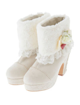 Liz Lisa   Berry Bouquet Short Boots by Liz Lisa