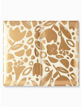 Golden Floral Weekly Calendar & Folio by Kate Spade