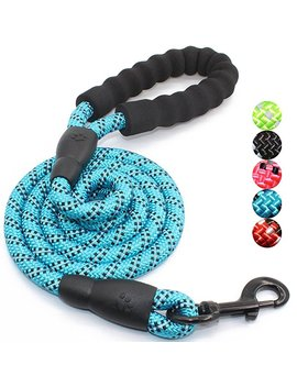 Baapet 5 Ft Strong Dog Leash With Comfortable Padded Handle And Highly Reflective Threads For Medium And Large Dogs by Baapet