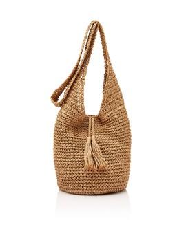 Straw Hobo Bag by Sportsgirl