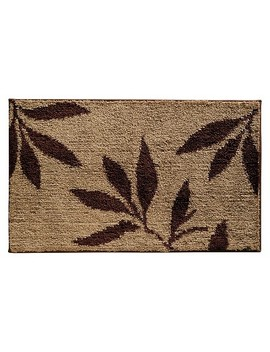 "Leaves Bath Rug (34x21"")   Inter Design® by Shop All I Design"