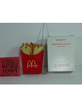 1970's Mc Donald's French Fry Am/Fm Radio  Mint In Box by Milestones In Mem