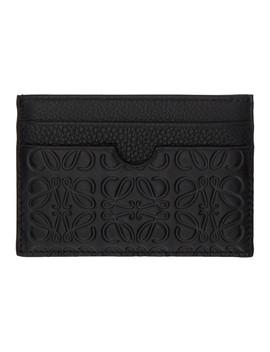 Black Puzzle Card Holder by Loewe