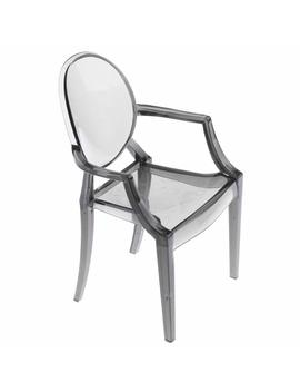 Magi Deal 1/6 Dolls House Furniture Plastic Gray Armchair For Barbie Dolls 16cm Height by Amazon