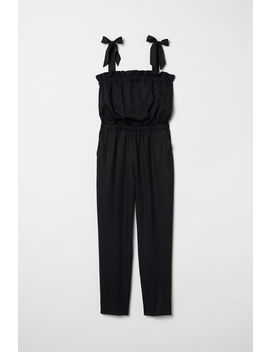 Jumpsuit Med Volang by H&M