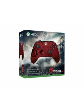 Xbox Wireless Controller   Gears Of War 4 Crimson Omen Limited Edition by Amazon
