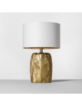 Leaf Table Lamp Gold   Opalhouse™ by Shop This Collection