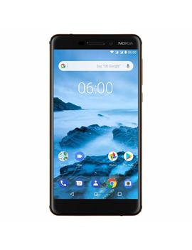 "Nokia 6.1 (2018)   Android One (Oreo)   32 Gb   Dual Sim Unlocked Smartphone (At&T/T Mobile/Metro Pcs/Cricket/H2 O)   5.5"" Screen   Black   U.S. Warranty by Nokia Mobile"